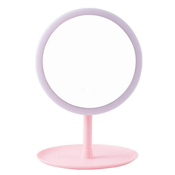 ReflectionLab ReflectionLab Vanity Mirror with Lights | USB plug-in, 90-degrees Rotation | 30 LED Lights OODS0000643