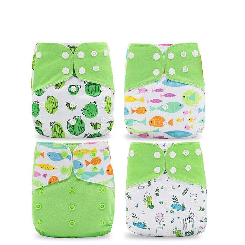 Silica Green Silica Eco-Friendly Cloth Diaper, Adjustable, Washable & Reusable Nappies OODS0001139