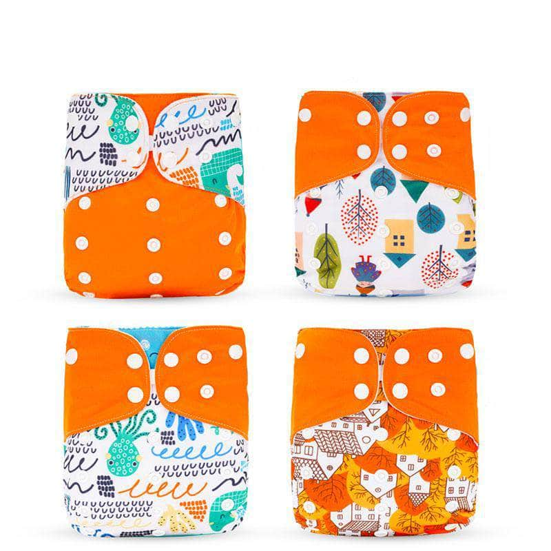 Silica Silica Eco-Friendly Cloth Diaper, Adjustable, Washable & Reusable Nappies | No Insert