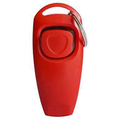SurePet Red SurePet 2 in 1 - Dog Training Clicker & Whistle OODS0000831