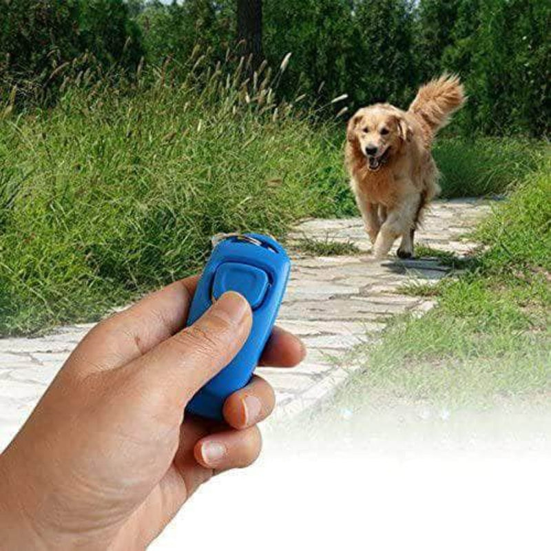 SurePet 2 in 1 - Dog Training Clicker & Whistle