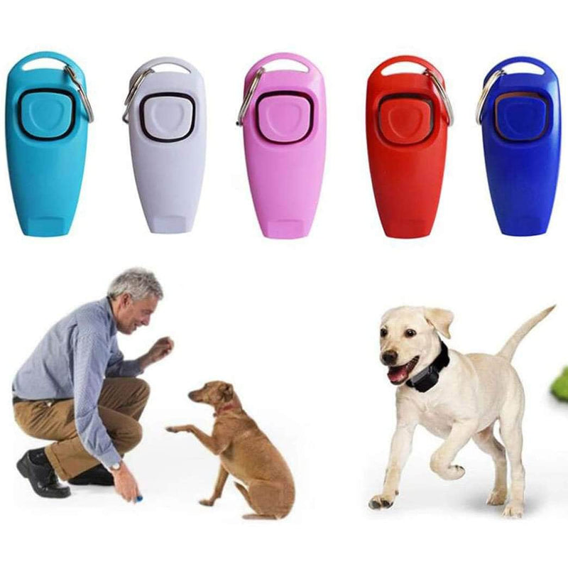 SurePet SurePet 2 in 1 - Dog Training Clicker & Whistle