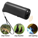 SurePet SurePet LED Ultrasonic Dog Repeller and Trainer 3 in 1 Anti- Barking Handheld Dog Training Device