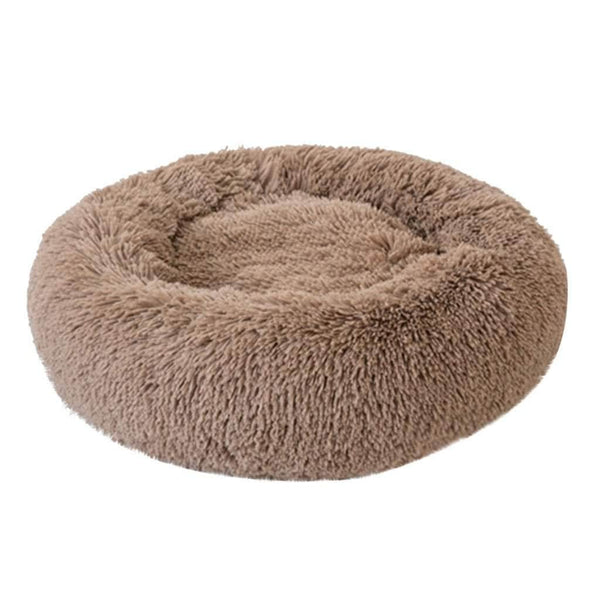 SurePet SurePet Soft Plush Round Pet Bed Calming Self Warming Winter Indoor Snooze Sleeping Pet Bed