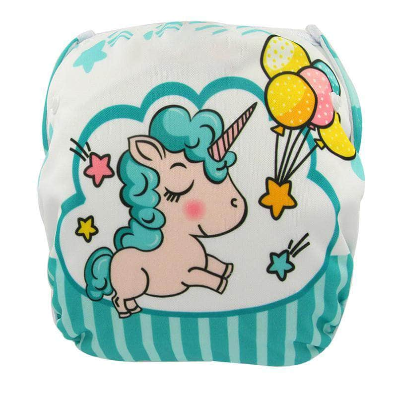 Swaggler Magic Unicorn Swaggler Baby Swim Diapers | Reusable Cloth Diaper Swimwear 4730505-yk62