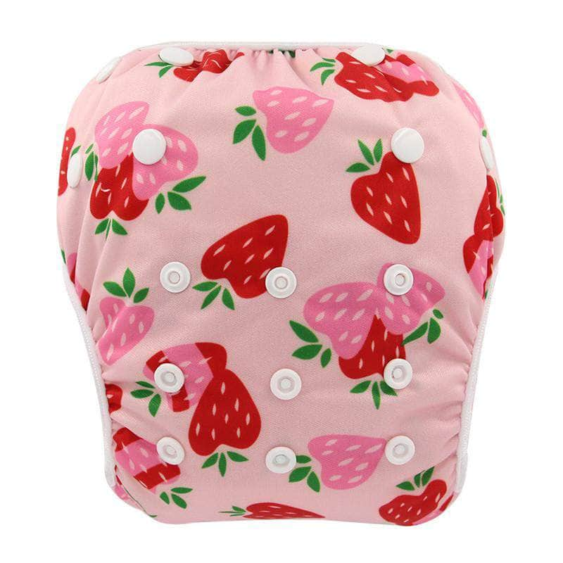 Swaggler Strawberrylicious Swaggler Baby Swim Diapers | Reusable Cloth Diaper Swimwear 4730505-yk55