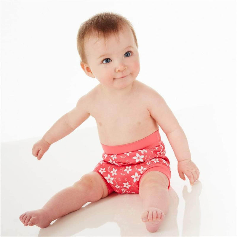 Swimmster Swimmster Infant Swimming Nappies, Newborn Baby High Waist Swimming Trunks
