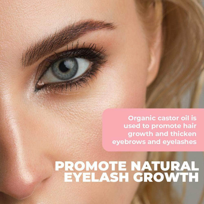 Syque Syque Castor Oil for Eyelash Growth | Eyelash Essential Oil OODS0001294