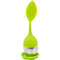 TEAXIE Tea Infuser Filter Stainless Steel Tea Ball Strainer with Leaf shaped Silicone Handle - Ooala