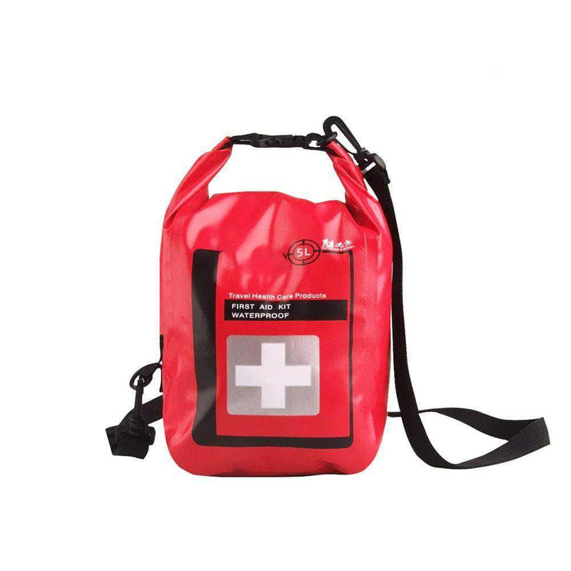 TexGroup Waterproof Empty First Aid Kit Bag for Outdoor Camping & Fishing - Ooala
