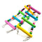 Moriox Bird Ladder Toy for Parrot, Macaw, Budgies, Cockatiels & Parakeet | 37cm - Ooala