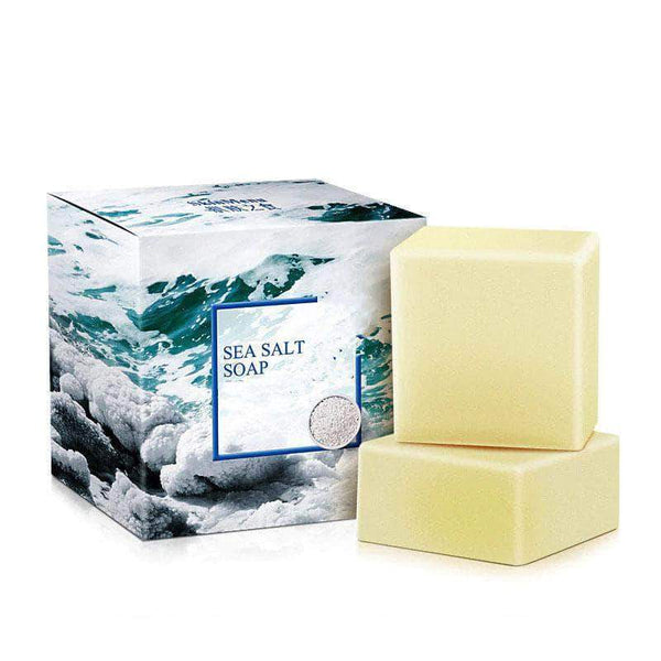 Theoup Theoup Sea Salt Bar Soap Treatment Against Acne and Other Skin Problems 100g OODS0000567