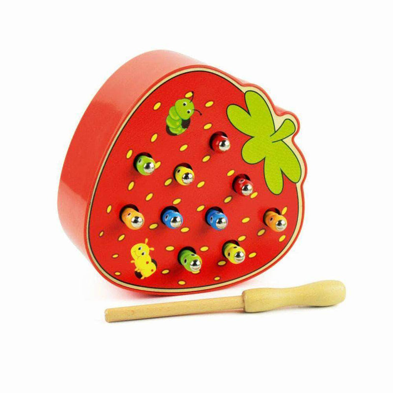 TinkyWinx Strawberry TinkyWinx Catch The Worm Wooden Educational Toy Learn From Home OODS0000583