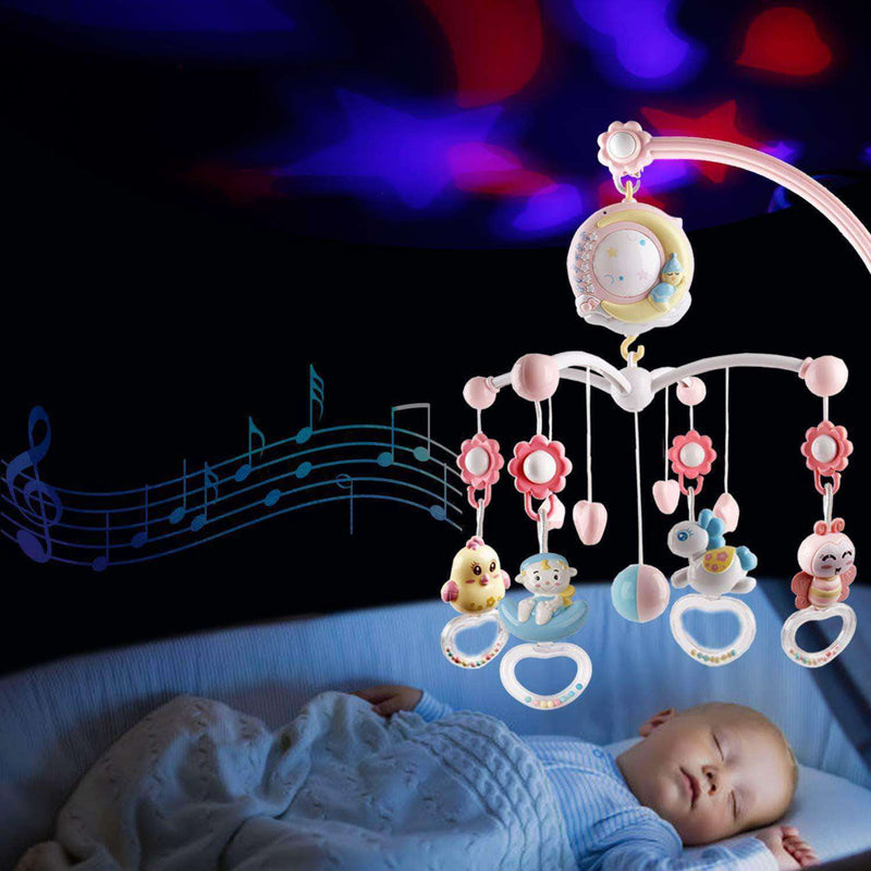 Whoopsy Baby Musical Crib Mobile with Music and Lights - Ooala