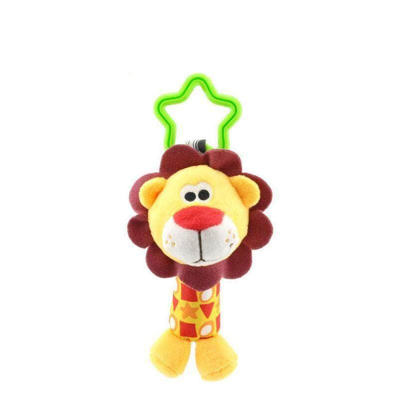 Twinqo Baby Kids Rattle Toys Cartoon Animal Plush Hand Bell Baby Stroller Crib Hanging Rattles Infant Baby Toys Gifts 35% off