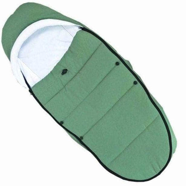Vanity Green Vanity Stroller Sleeping Bag | Windproof and Waterproof Footmuff OODS0000736