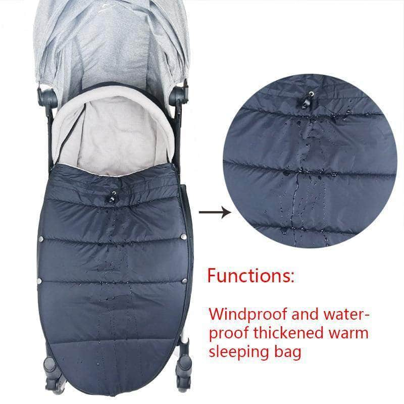 Vanity Vanity Stroller Sleeping Bag | Windproof and Waterproof Footmuff