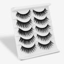Velvery 3D-74 / CHINA Velvery High Volume 3D False Eyelashes, Long and Thick, 5 Pairs 30012646-3d-74-china