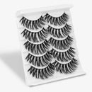 Velvery 3D-75 / CHINA Velvery High Volume 3D False Eyelashes, Long and Thick, 5 Pairs 30012646-3d-75-china