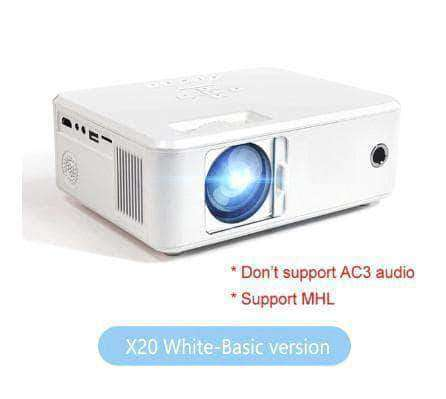 Vistech Mini LED Projector, Full HD 1080P- Perfect For Your Home Cinema - Ooala