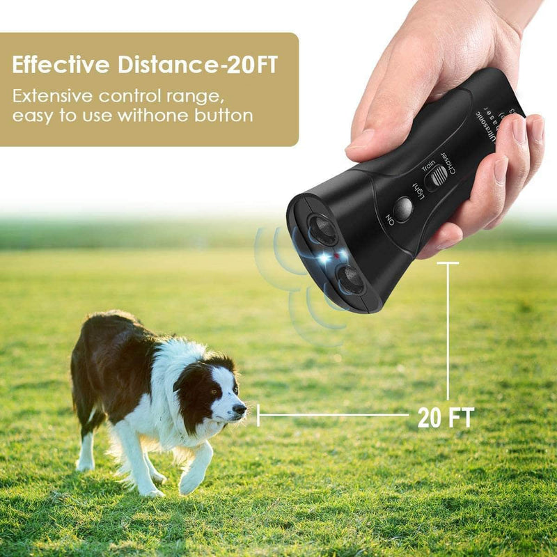 WagNest WagNest Ultrasonic Dog Training and Repellent Device OODS0000878