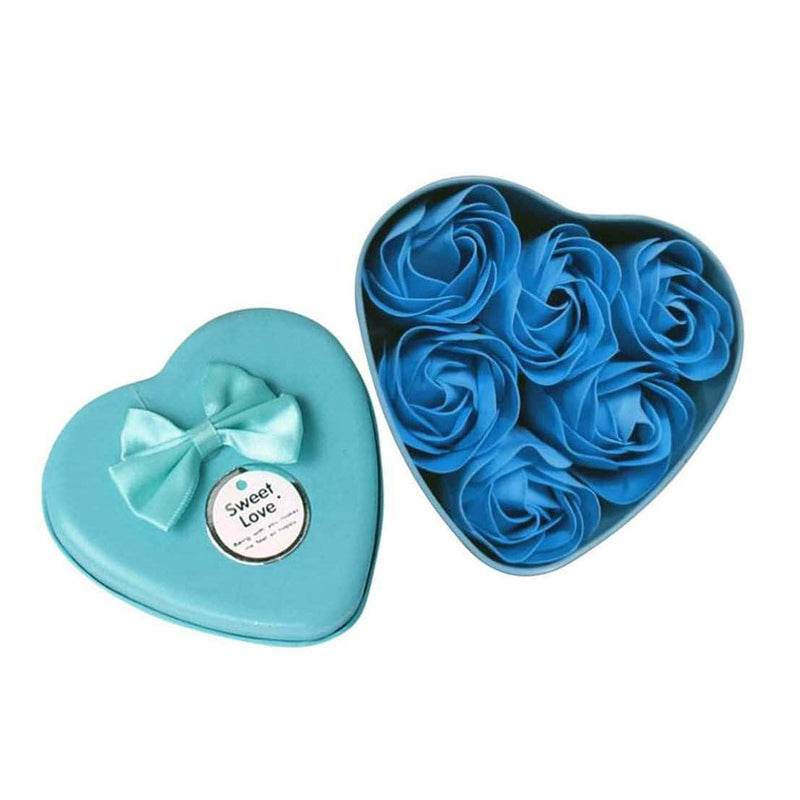 Washana Washana 6Pcs Heart Scented Bath Body Petal Soap