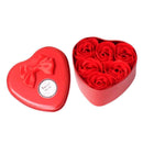 Washana Red Washana 6Pcs Heart Scented Bath Body Petal Soap 29458951-china-red