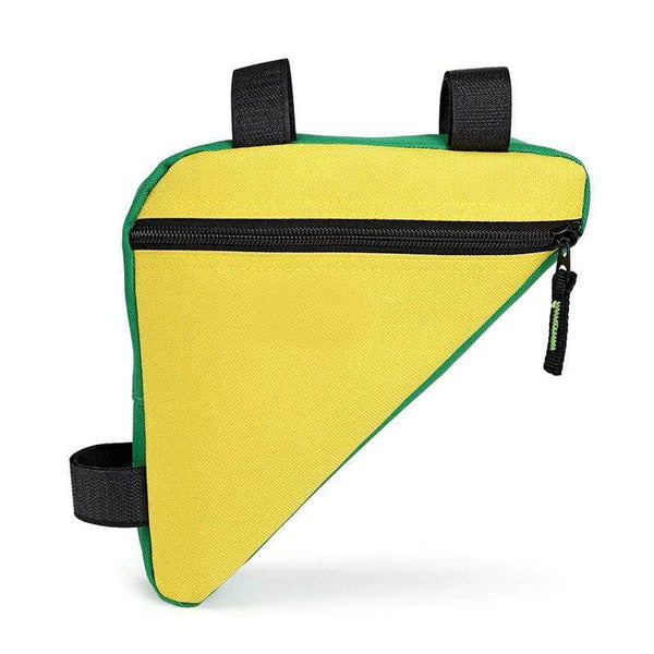 Xebok Yellow Xebok Bicycle Triangle Frame Bag OODS0001280