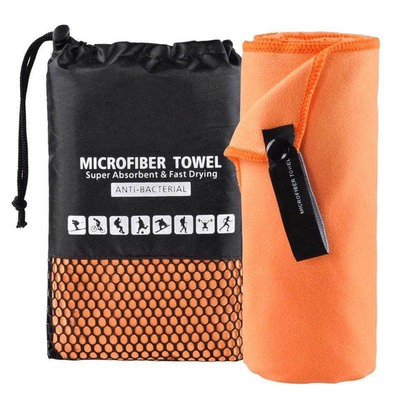 Xonique Orange Xonique Microfiber Towels | Fast Drying, Super Absorbent & Ultra Soft Towel | 81x182.8cm OODS0001368