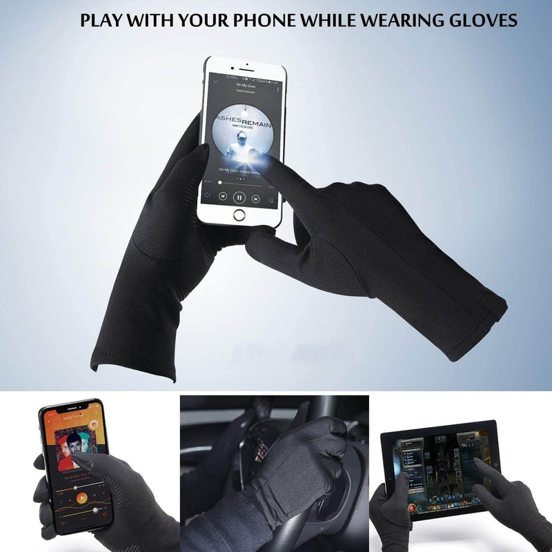 Xportus Xportus Lightweight Running Gloves with Anti-Slip Silicone Gel | Touch Screen & Waterproof Gloves