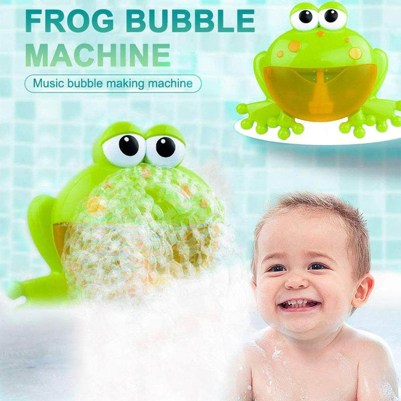 Yodie Yodie Bubble Frog Music Baby Bath Toy, Soap Machine Automatic Bubble Bath Toy OODS0001154