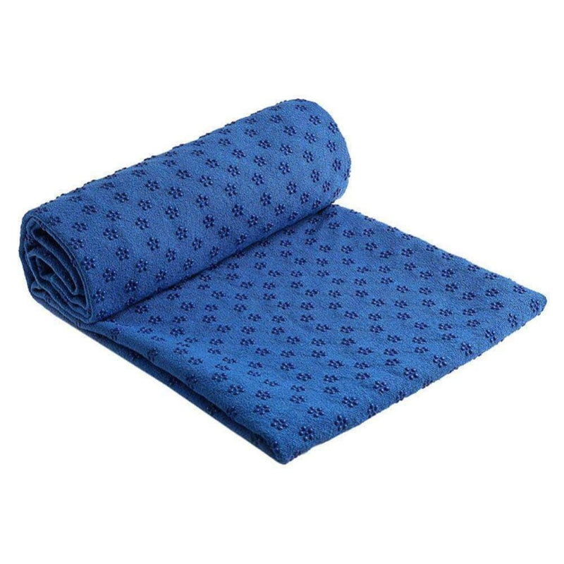 ZenAlley Non-Slip and Super-Absorbent Hot Yoga Towel, for Bikram Pilates and Yoga Mats - Ooala