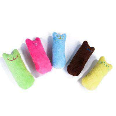 Zesty Teeth Grinding Catnip Toys | Funny Interactive Kitten Chewing Toy - Ooala