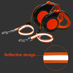 Retractable Dog Leash Reflective 3m/5m/8m - Dog Nation