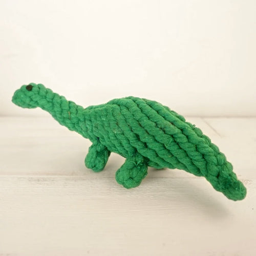 Dinosaur Cotton Rope Toy for Dogs - Dog Nation
