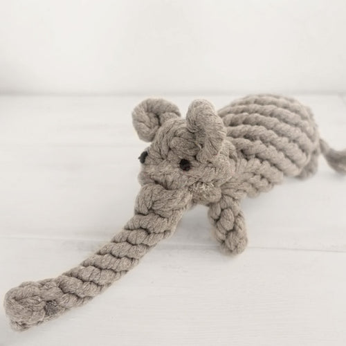 Elephant Cotton Rope Toy for Dogs - Dog Nation