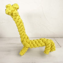 Load image into Gallery viewer, Giraffe Cotton Rope Toy for Dogs - Dog Nation