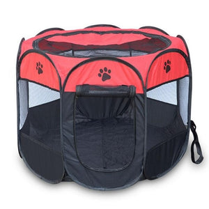 Portable Folding Dog Bed House Tent Octagonal - Dog Nation