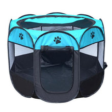 Load image into Gallery viewer, Portable Folding Dog Bed House Tent Octagonal - Dog Nation
