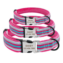Load image into Gallery viewer, Soft Padded Nylon Dog Collar and Leash Set Coleira Perro - Dog Nation