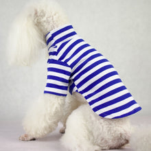 Load image into Gallery viewer, New Collection Navy Dog Outfit Cotton