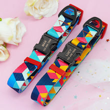 Load image into Gallery viewer, Iris Personalised Dog Collar Nylon Engraved - Dog Nation