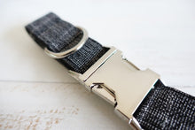 Load image into Gallery viewer, The Black Suit Personalised Dog Collar Handmade Laser Engraved - Dog Nation