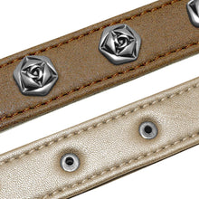 Load image into Gallery viewer, New Design Genuine Leather Dog Collar - Dog Nation