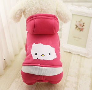 Cool Hoodie Sweatshirt for Dogs - Dog Nation