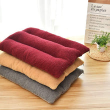 Load image into Gallery viewer, Soft Coral Fleece Dog Bed - Dog Nation