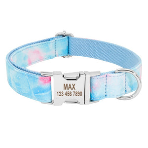 Orion Personalised Dog Collar Nylon Engraved - Dog Nation