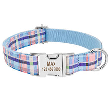 Load image into Gallery viewer, Orion Personalised Dog Collar Nylon Engraved - Dog Nation