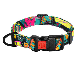 Nylon Dog Collar Bohemian Style - Dog Nation