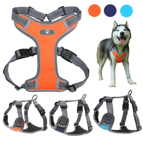 Reflective Dog Harness Vest - Dog Nation